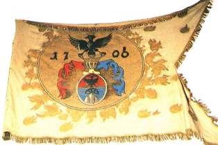 Rákóczi-címeres kuruc zászló