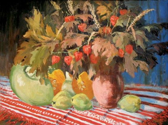autumn, painting