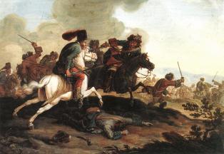 kuruc-labanc csatajelenet
