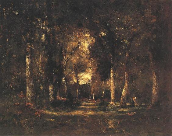Laszlo Paál: Autumn atmosphere (in the woods)
