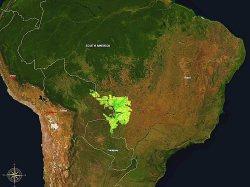 Pantanal localisation