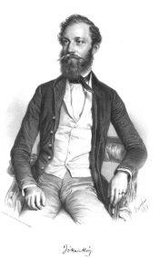 Barabás Portrait of Mór Jókai, 1854