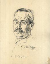 Gyula Krúdy by Ferenc Márton