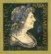 Matthias Corvinus from a Corvina Codex
