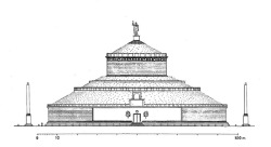 Augustus mausoleum reconstruction