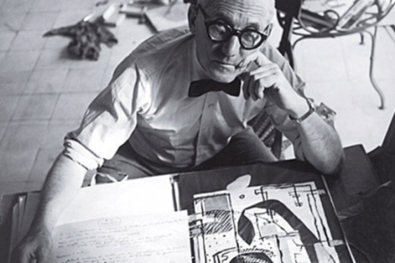 Le Corbusier at work