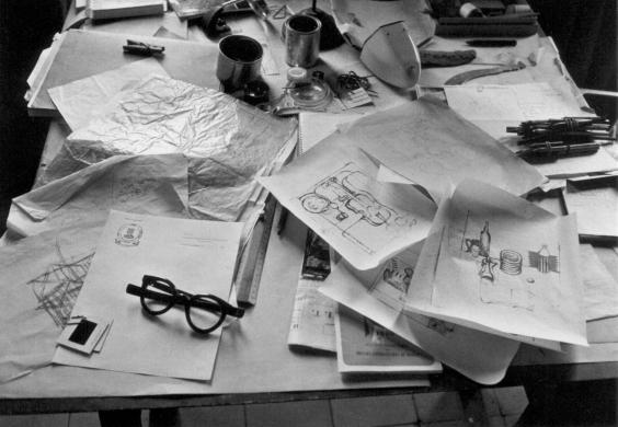 Le Corbusier's design table