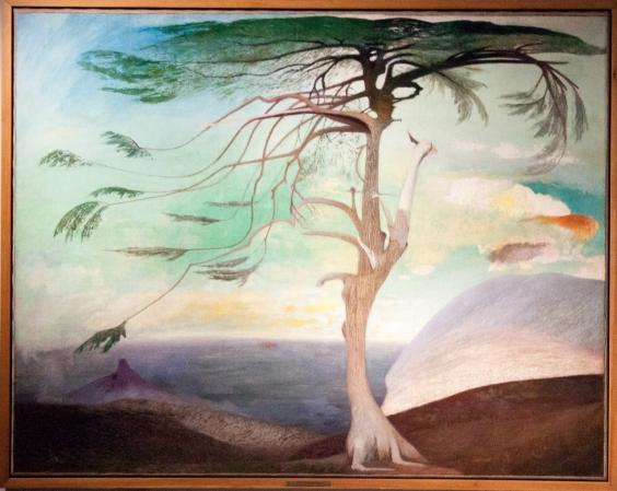 Tivadar Csontváry Kosztka: The Lonely Cedar