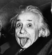Albert Einstein by Arthur Sasse