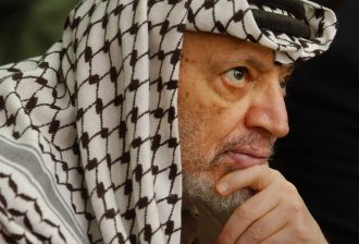 Yasser Arafat in 2002