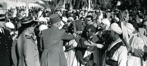 de Gaulles visit in Algeria, 1960