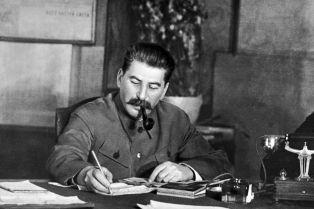 Stalin portrait