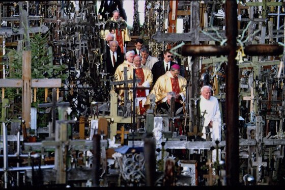 Hill of Crosses in Lithuania
