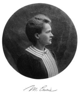 Marie Curie Nobel portrait