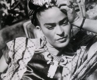 Frida Kahlo mexican artist in 1950