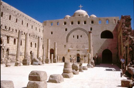 White Monastery Sohag, Egypt