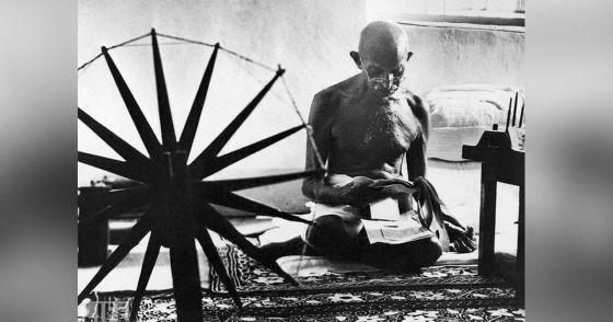 Mahatma Gandhi in 1946