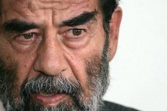 Saddam Hussein in 2004