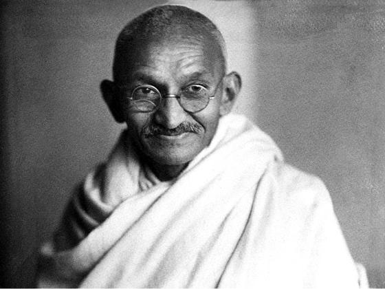 Mahatma Gandhi in 1940