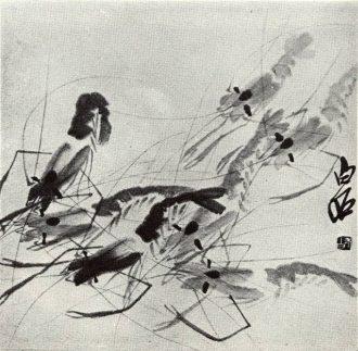 Qi Baishi: Rákok (részlet)