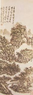 Huang Binhong: Táj