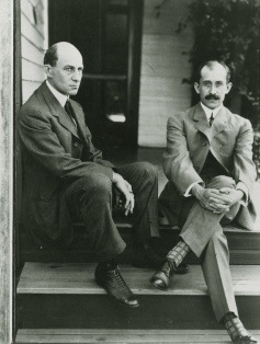 Wilbur and Orville Wright in Dayton