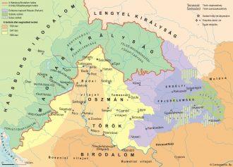 Hungary map (1568)