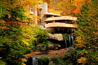 Fallingwater by Frank Lloyd Wright