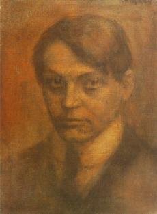 Ady Endre portrait by Czigány Dezső