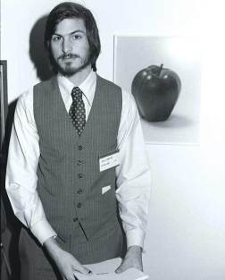 Steve Jobs in 1977 at San Francisco