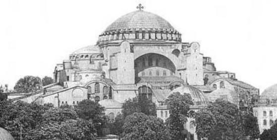 Hagia Sophia anno