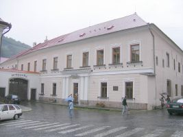 The Mint building, Kremnica