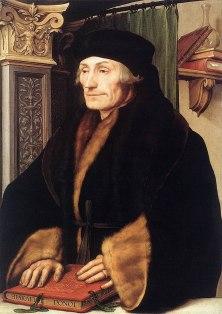 Erasmus by Holbein