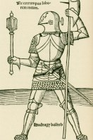 image of a knight in armour, 1511