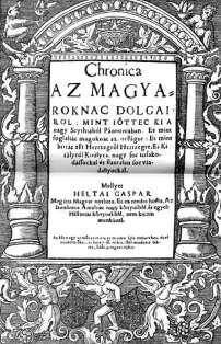 Chronica by Gaspar Heltai