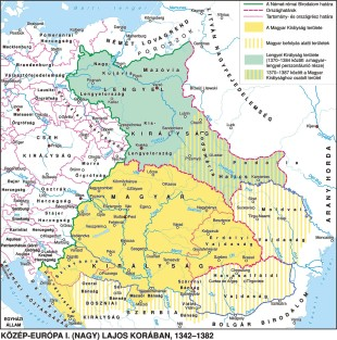 Central Europe in the 14th century