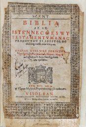 Vizsolyi Bible in 1590