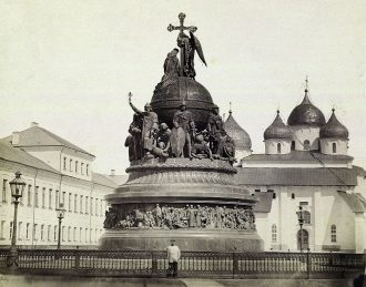 The Millennium Russia Memorial in Novgorod