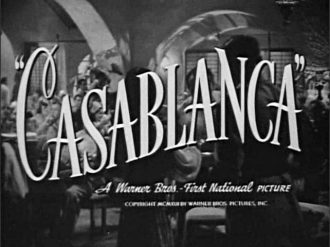 """Casablanca"" title"