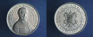 Commemorative coin of Lajos Kossuth (Throne of the Habsburg House