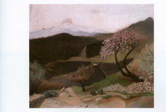 Csontvary Kosztka Tivadar: Blooming almond tree