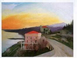 Csontvary Kosztka Tivadar: Almond blossom in Taormina