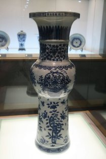 Porcelain vase, China