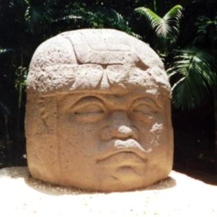 Olmec Stones stone statue