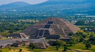 Pyramid Of The Sun At Teotihuacan Mexico