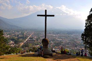 Antigua Guatemala from Cerro de la Cruz