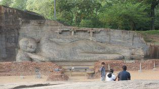 Buddha, Polonnaruwa, Ceylon