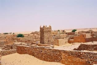 Vue Generale de la vieille ville de Chinguetti en Mauritanie (François COLIN)