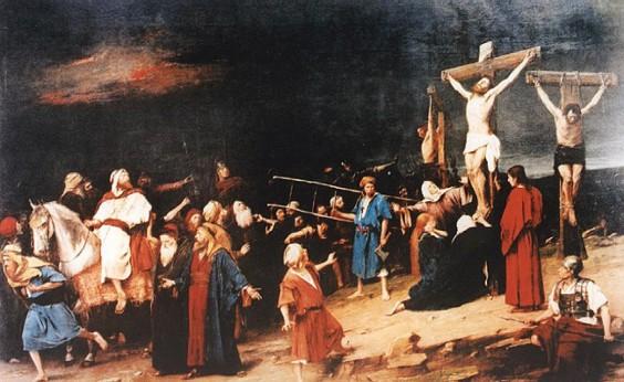 Mihaly Munkacsy: Golgota (1884)