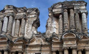 Old ruins in Antigua Guatemala
